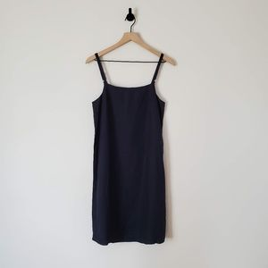 Assembly Label Linen Dress in Navy / 8